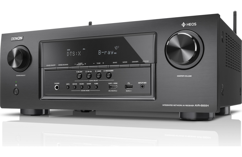 Receiver A/V 7 2 Canais - Denon AVR-S930H– 95W - Dolby ATMOS